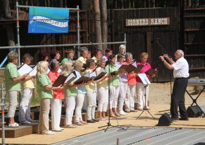 Chorkonzert auf der Waldbühne in Bischofswerda